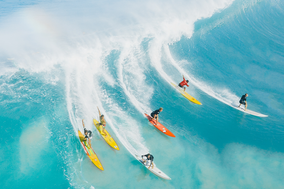 agilité surf